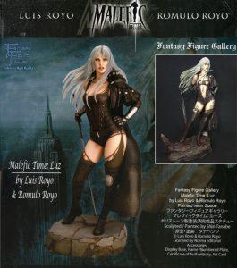 Malefic_Time_Luis-Royo-Romulo_Royo-Luz_Yamato-sculpture-figure