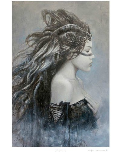 33LE_GleamOfVeela-Limited_Editions-Laberinto_Gris_Art-Romulo_Royo-Malefic_Time-MTW