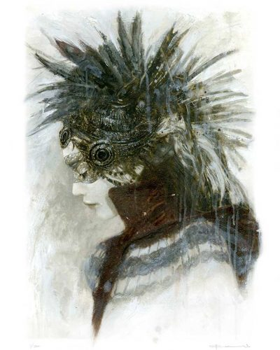 56LE_GoddessesNibiruVII-Limited_Editions-Laberinto_Gris_Art-Romulo_Royo-Malefic_Time-MTW
